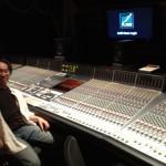 NRG Recording Studiosにて