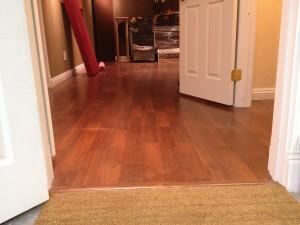 床貼り工程終了!