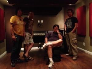 想定外、スタジオにミキサーがやって来た!
