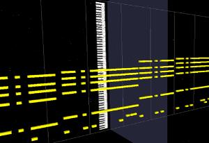 MIDI Trailでのトラック単色表示2