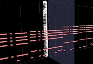 MIDI Trailでのトラック単色表示